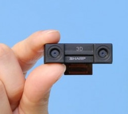 Sharp 3D camera module