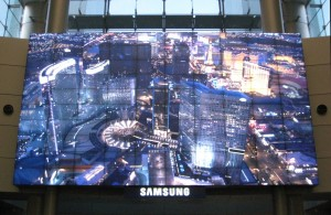 Samsung Video Wall